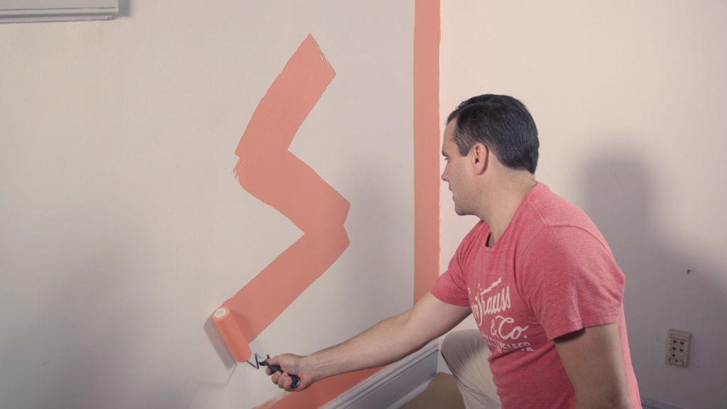 Секреты окрашивания стен