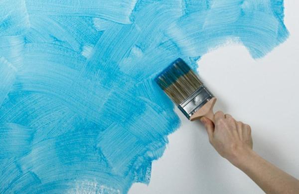 Покраска стен альтернативная замена обоям