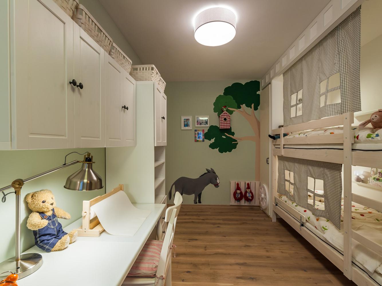 Детская комната для мальчков - двойняшек