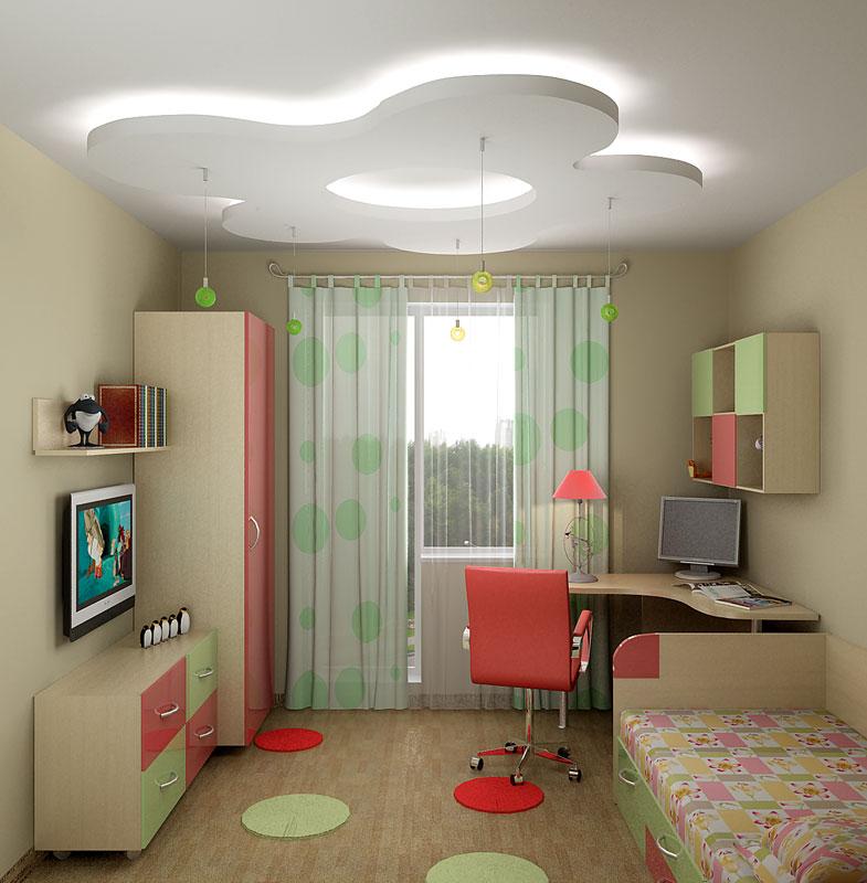 Интерьер детской комнаты для подрастающего мальчика
