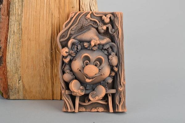 Глина — уникальный природный материал, из которого можно создавать настоящие шедевры