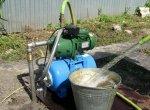 Насосная станция для забора воды из скважины-иглы