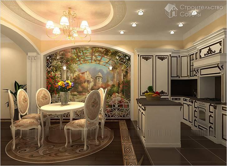 В дизайне кухни