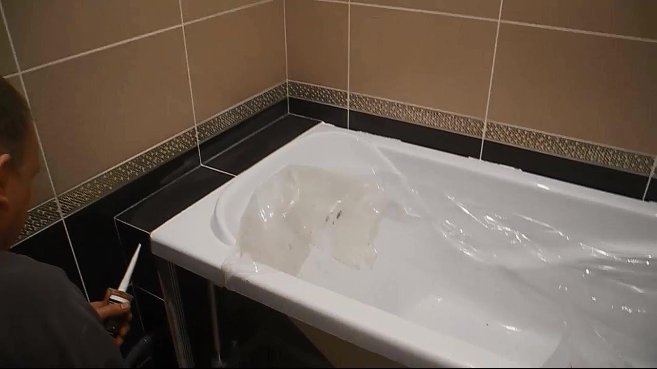 вариант использования герметизации в ванной в ремонте комнаты