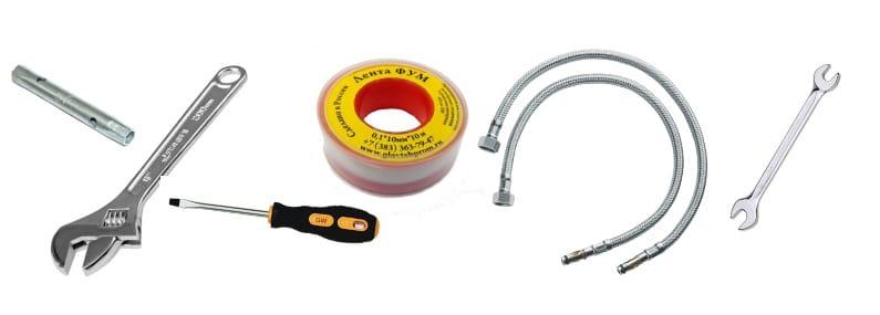 Инструмент для установки смесителя своими руками