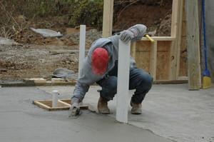 Измерение прочности бетона