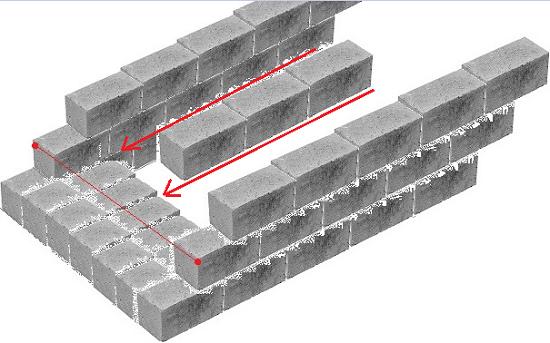 Как сделать правильно крыльцо из бетона – схема укладки керамзитобетонных блоков