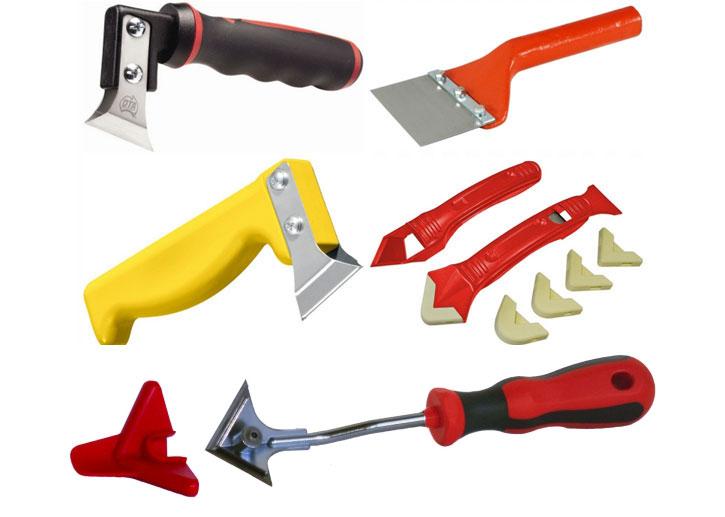 Инструменты для удаления герметика