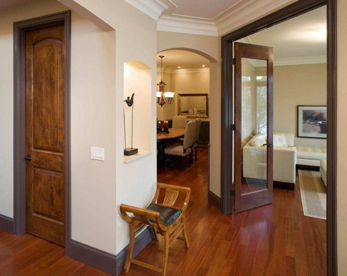 Межкомнатные двери должны быть не только качественными, но и гармонично дополнять дизайн помещения