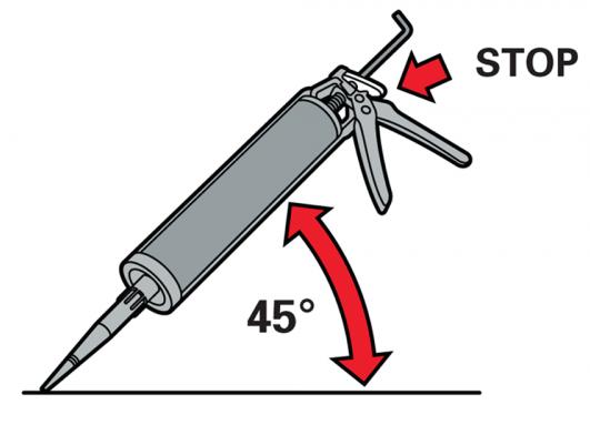 Применение герметика