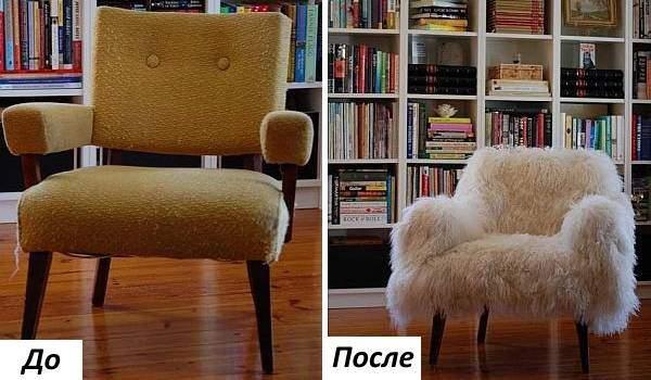 Реставрация и перетяжка мягкой мебели - лучшие фото