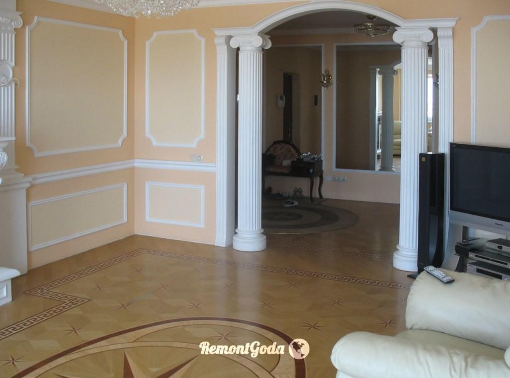 фото: покрасить стены вместо обоев