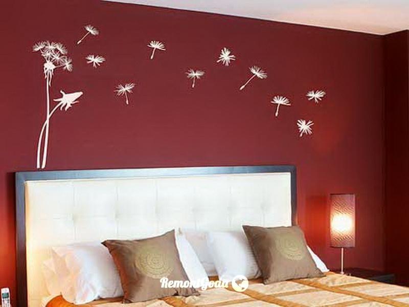 фото: покраска спальни