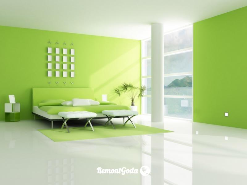 фото: покраска стен