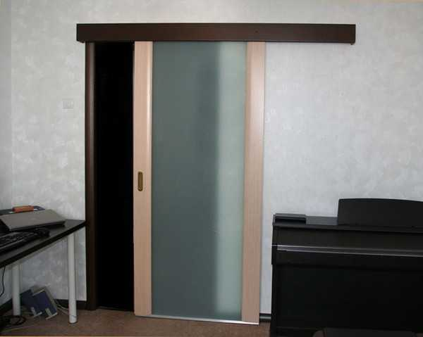 Одностворчатые межкомнатные сдвижные двери