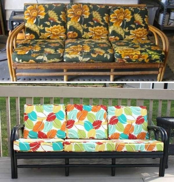 Реставрация подушек и деревянных частей мягкой мебели