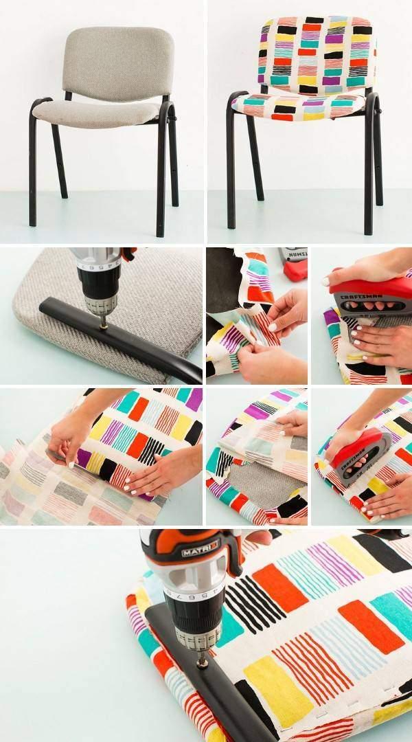 Ремонт и реставрация мягкой мебели - пошаговые фото с до и после