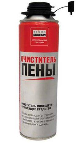 средство для очистки строительного пистолета от монтажной пены