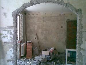 Снос перегородок между комнатами