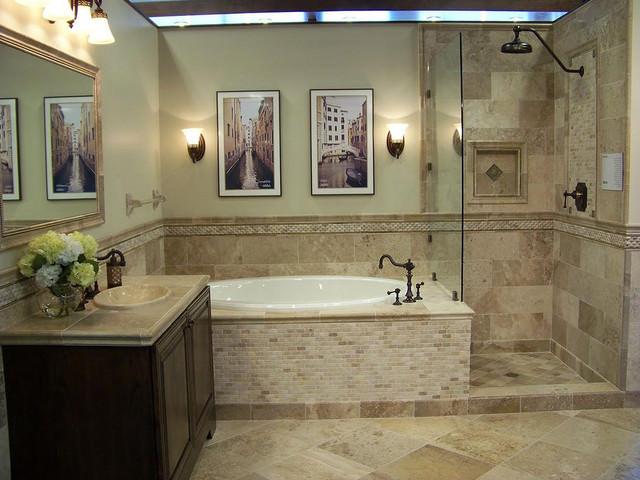 Красивая ванная для дома
