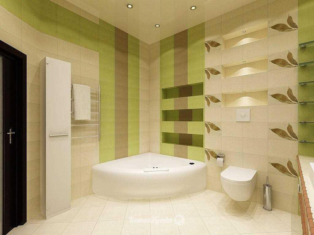 идея необычного стиля ванной