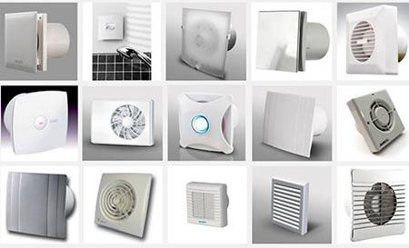 вентиляторы для ванной комнаты