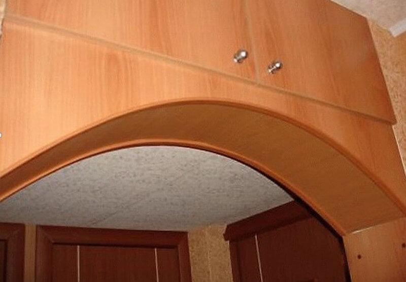 Межкомнатная арка из фанеры