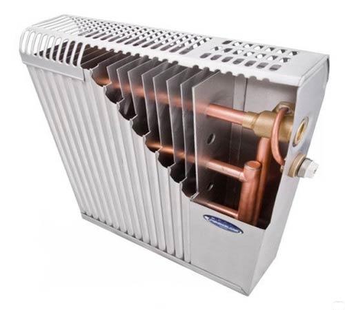 Конвекционный радиатор медь+алюминий