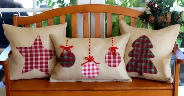 Как украсить диванные подушки своими руками на Новый Год