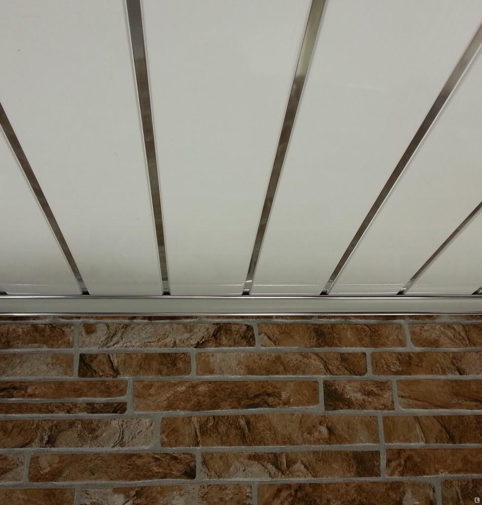 Панель ПВХ на потолок своими руками