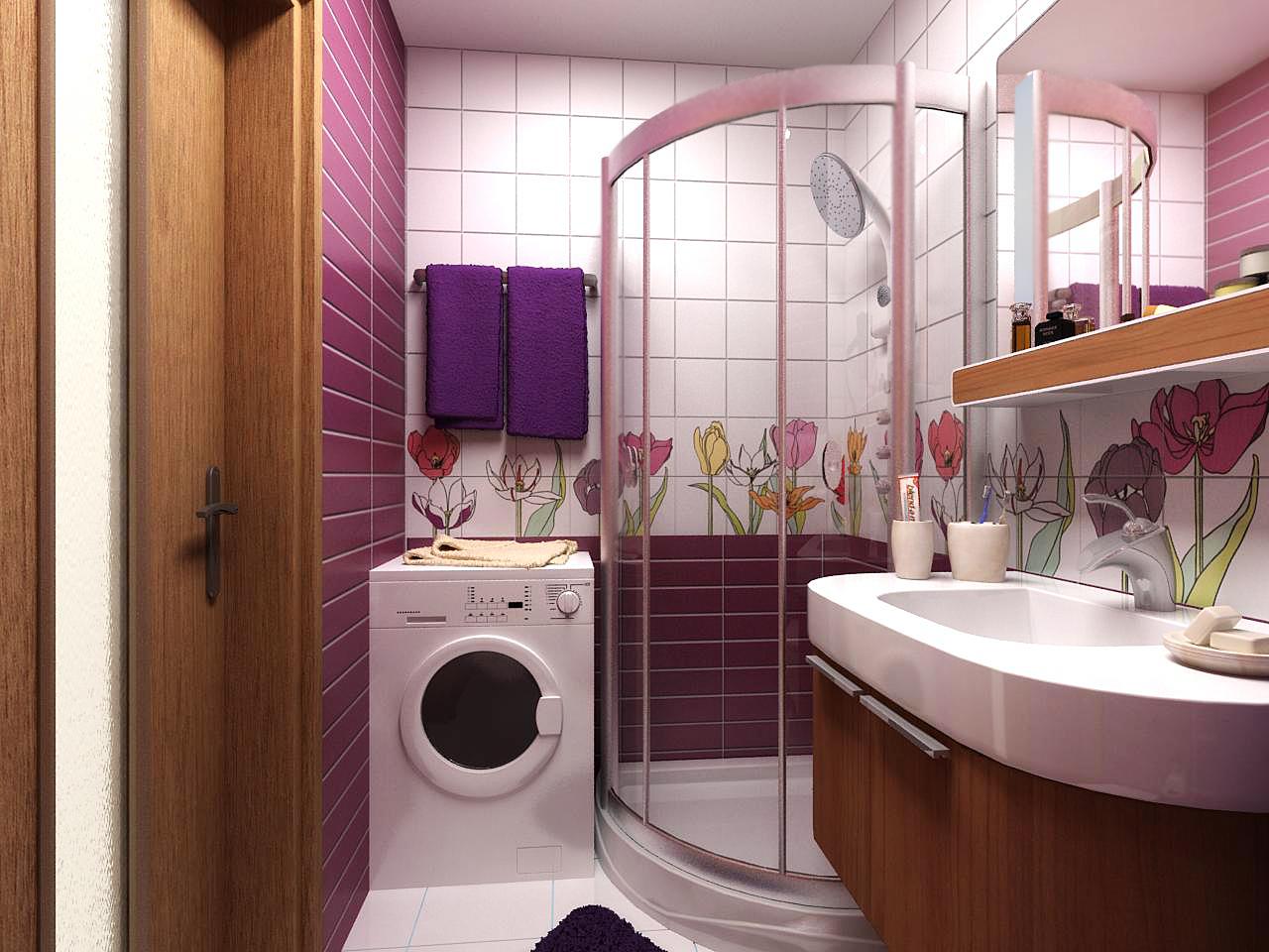 плитка для небольшой ванной