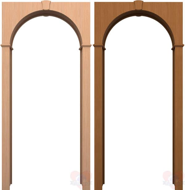 Шпонированные арки
