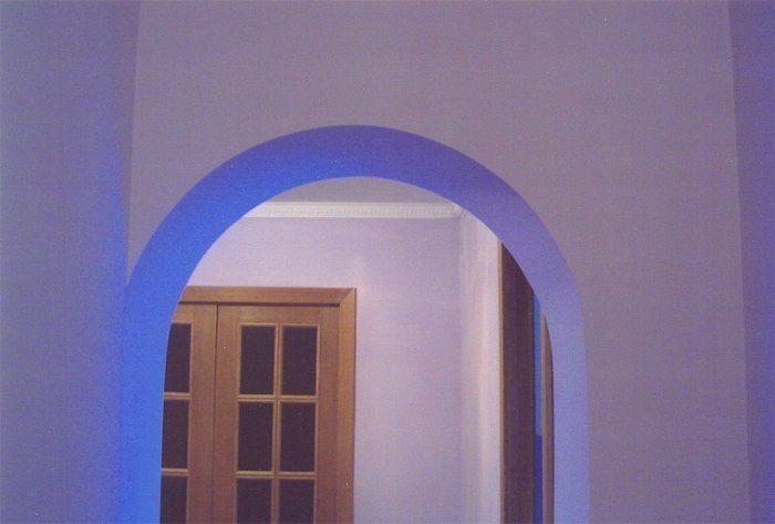 Окрашенная арка