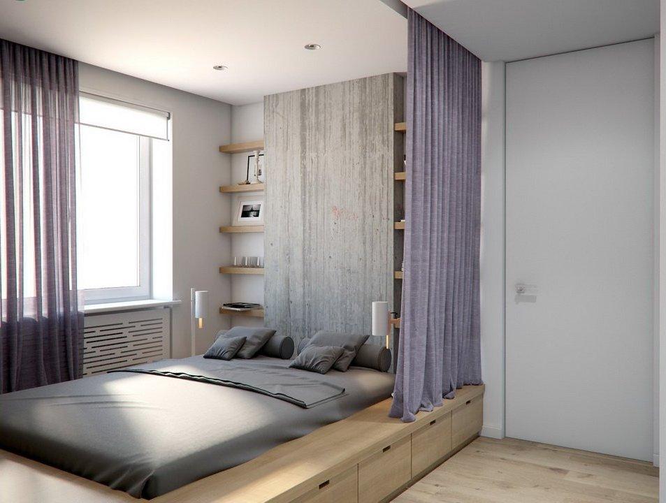 Эргономичный гарнитур для спальни