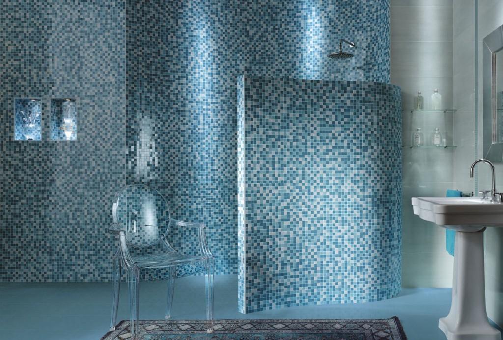 Оригинальный элемент декора: мозаика из битой плитки своими руками