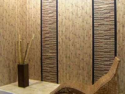 Бамбуковые обои в дизайне комнаты
