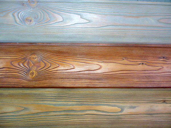 Одна и та же древесина с помощью морилки может приобрести разный вид