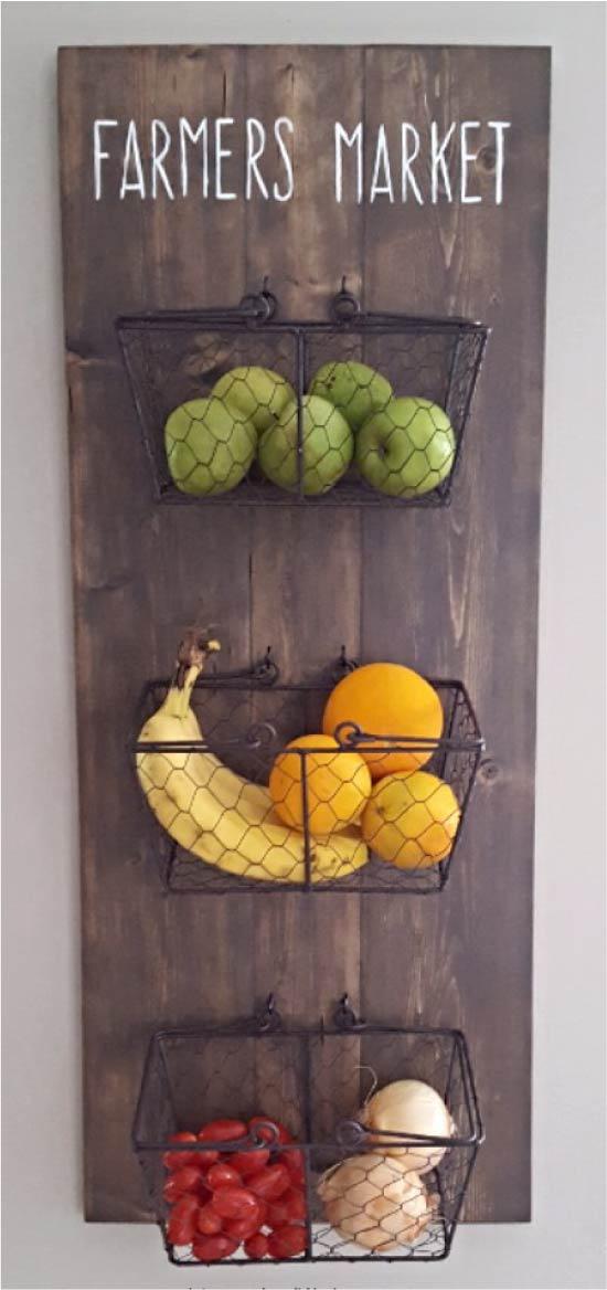 Полка для хранения овощей и фруктов