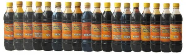 Составы на спиртовой основе также имеют много оттенков и стоят порядка 100 рублей за литр