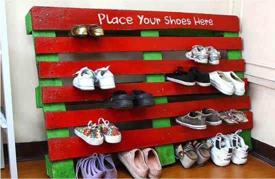 Стойка для обуви своими руками