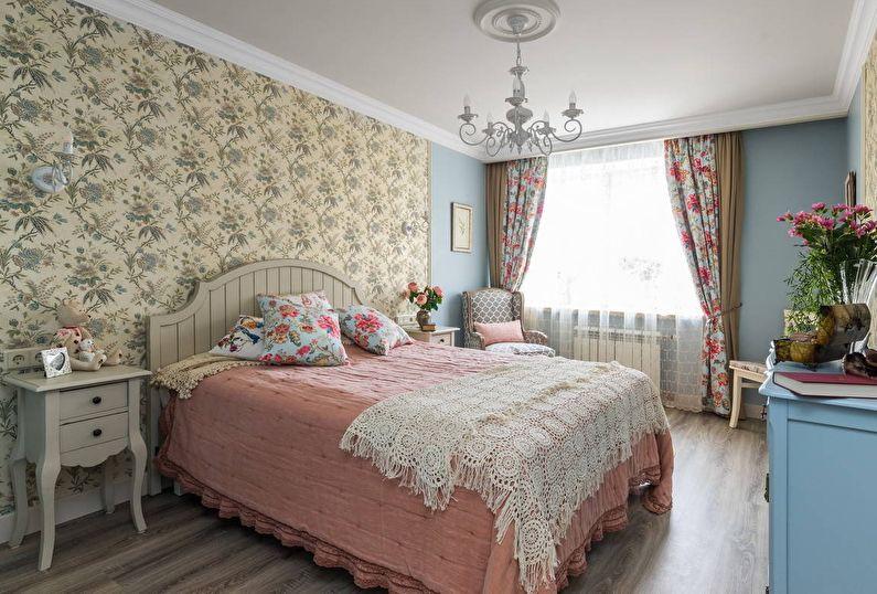 Дизайн спальни в стиле прованс: 65 фото-идей