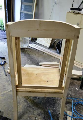 Дополнительные планки для кресла