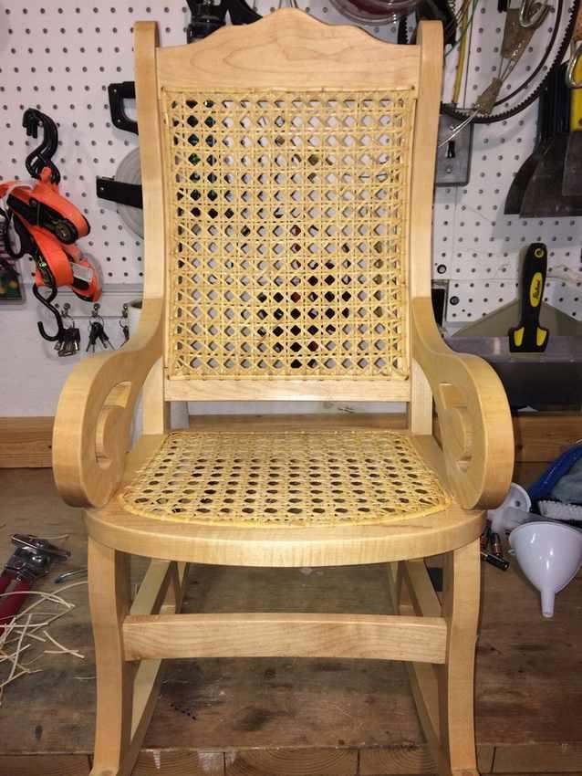 Стул кресло качалка своими руками из дерева