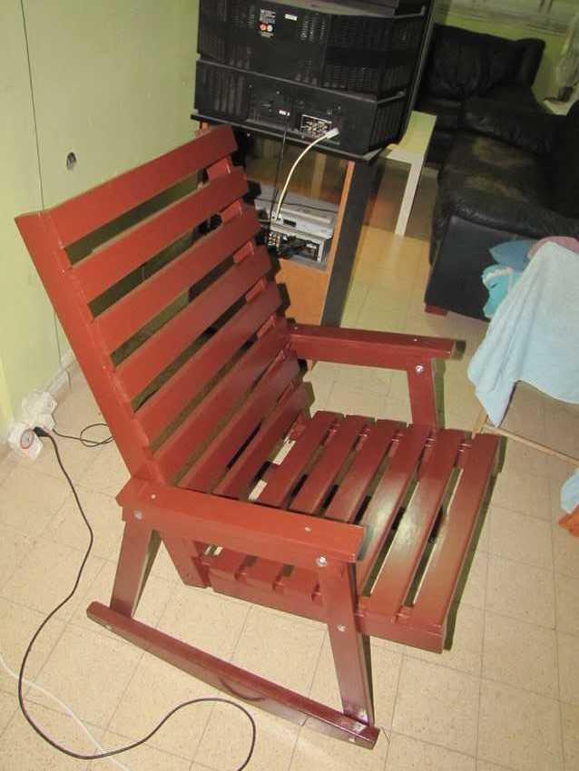 Кресло качалка своими руками  Просто Быстро