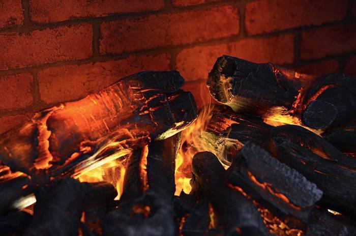 Паровой эффект огня