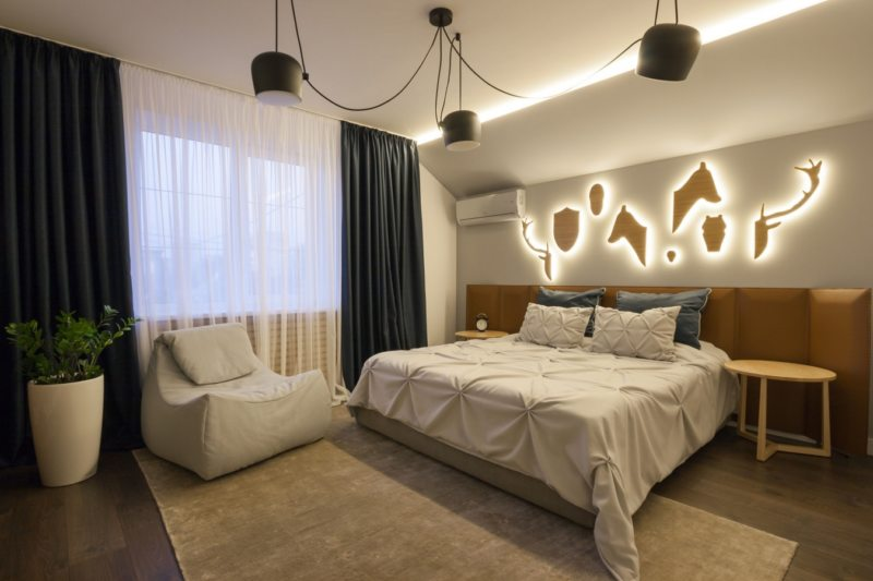 Свет в спальне (14)