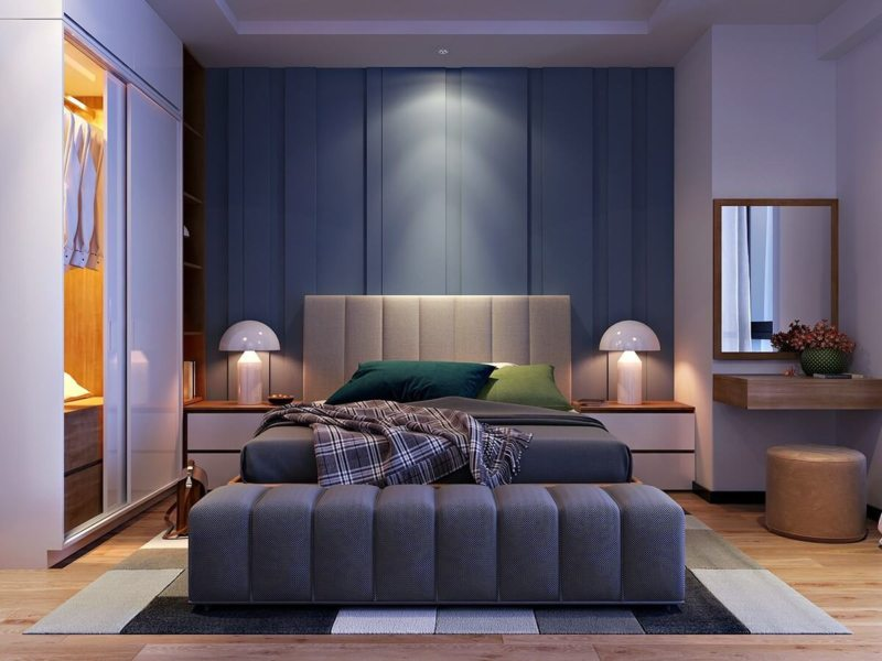 Свет в спальне (27)