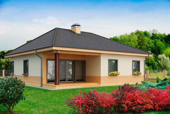 Преимущества одноэтажного дома 10х10 м